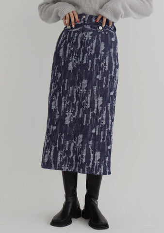 Forever Long Skirt [Blue]