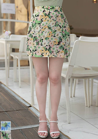 More To You Than Yesterday Flower Mini Skirt