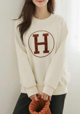 Capital Letter Sweatshirt