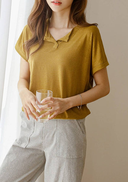 To The Point Linen Top
