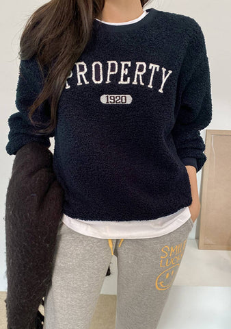 My Property Fleece Sweatshirt