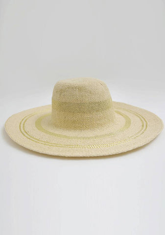 Are You Willing To Travel Straw Hat