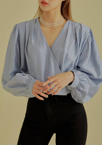 Queen Of Me Silky Blouse