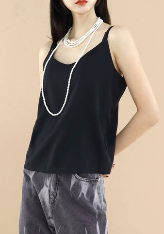 Aaaye Sleeveless Top [Black]