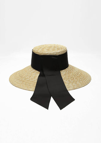 Waterfall On The Promise Straw Hat