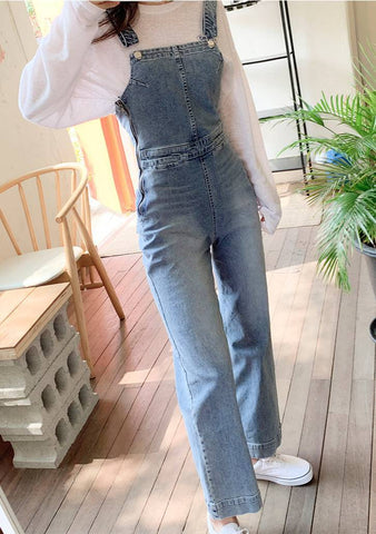 Troublemaker Denim Overall