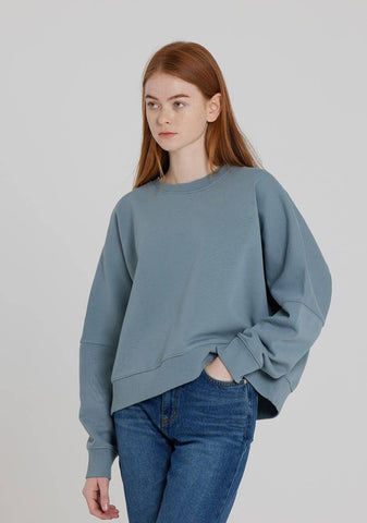 LZSD Logo Point Sweatshirt (Dark Blue)