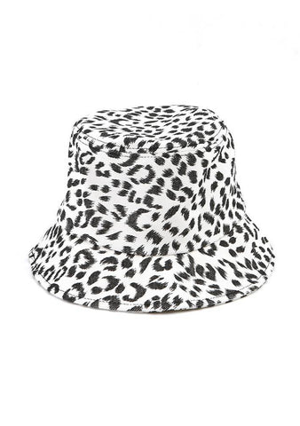 Give The Results Leo Print Bucket Hat