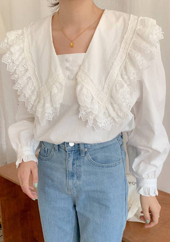 After Everything Lace Blouse