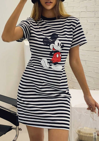 Make A List Mickey Stripes Dress