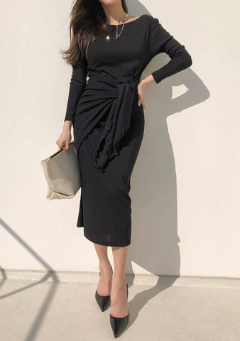 Through Personal Style One-Shoulder Dress