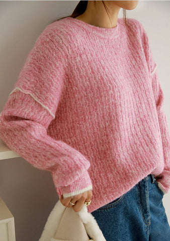 Better Hello Ribbed Knit Sweater