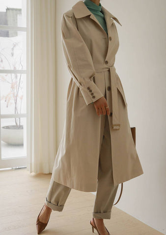 Lets Spark A New Flame Trench Coat