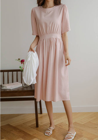 Romantic Ribbon Back Dress
