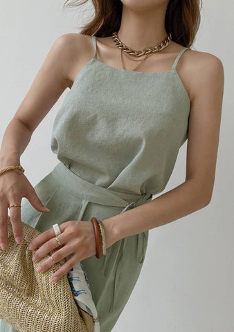 Curious And Hungry Sleeveless Top