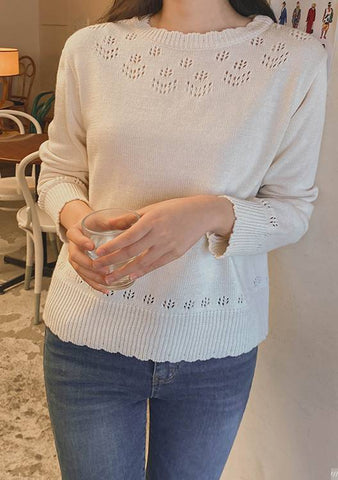 Keeping Quiet Knit Top