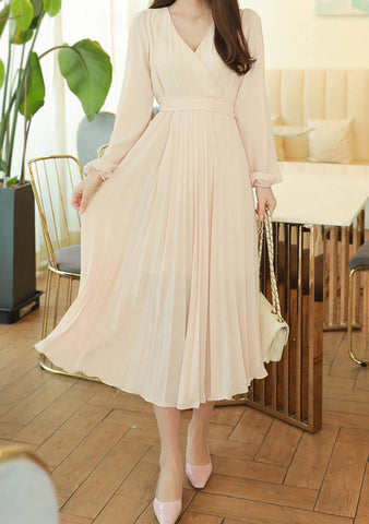 The Kindest Soul Pleated Dress