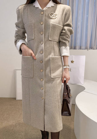 No Doubt About It Pocket Long Coat