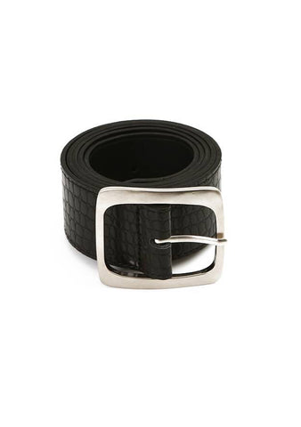 Hold Me Square Croco Belt