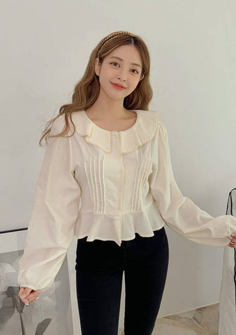 Love Lost My Way Ruffle Blouse