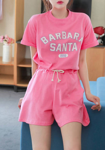 Barbara Santa Shorts Top Set