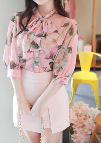 I Think It Is Brave Ribbon Blouse