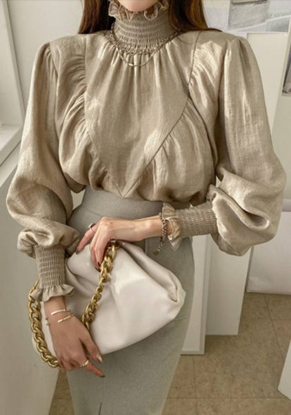 In My Dreams I Am The Queen Silk Blouse
