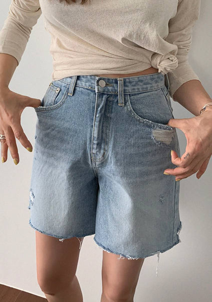 Involve In The Situation Denim Shorts