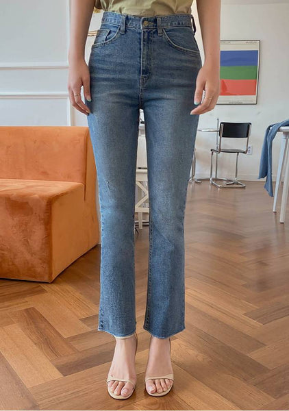My Impossible Slit Denim Jeans