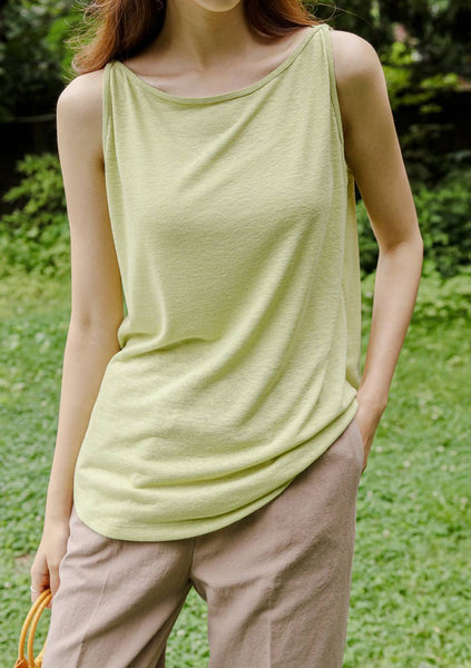 Spring Aesthetic Sleeveless Top