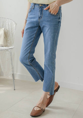 On The Right Track Denim Jeans