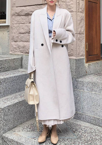 Soft Button Maxi Coat