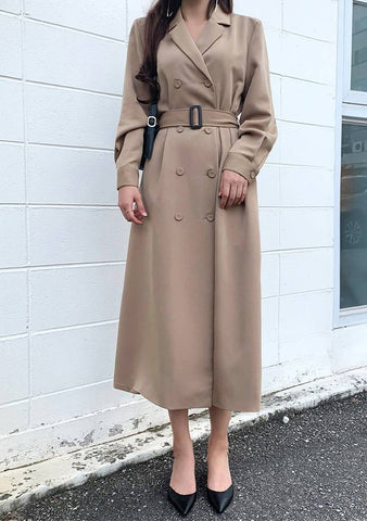 Trench Belted Dress