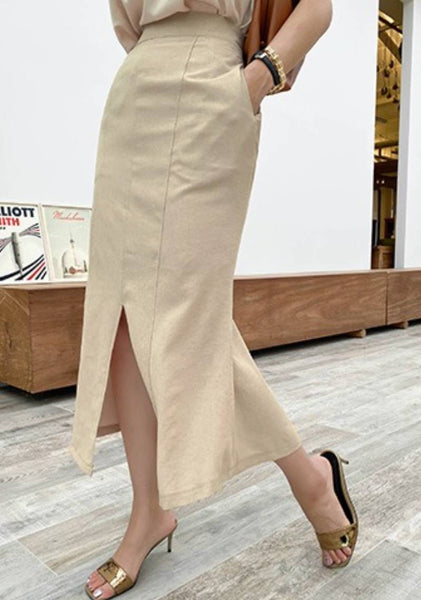Making The Difference Slit Skirt