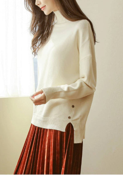 The Chronical High Neck Knit Sweater