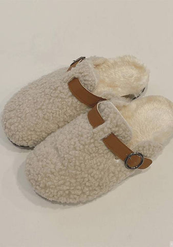 Mood Boost Fleece Slippers
