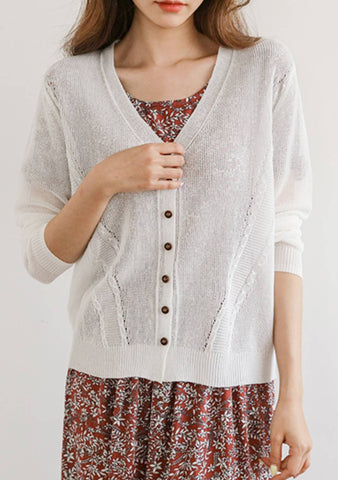 Embrace Uncertainty Short Sleeves Cardigan