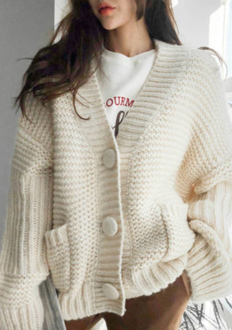End Of Watch Oversize Knit Cardigan