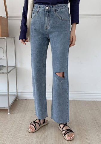 Romea Wide Legs Denim Jeans