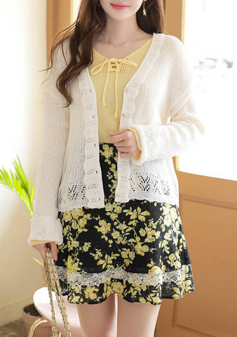 Sweet Dreams Lace Cardigan
