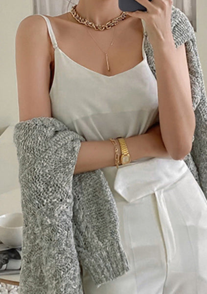 In The Little Details Sleeveless Top