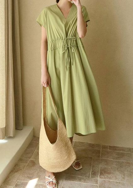 Celebrate Yourself Shirring Long Dress