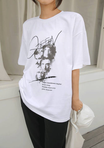 Part Of The Queen Printed T-Shirt