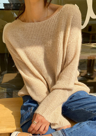 Gentle Autumn Knit Sweater
