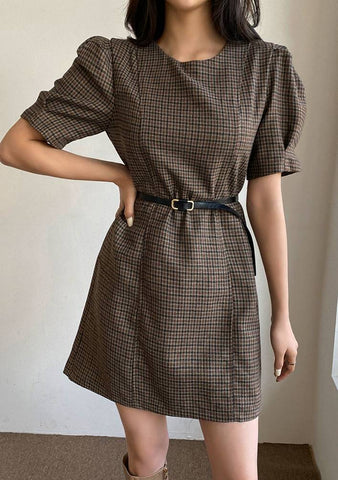 A Rain Check Puff Dress
