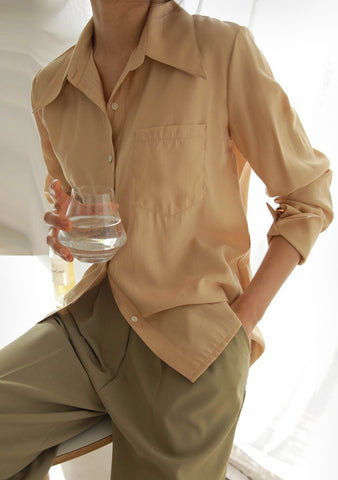 Secret Affair Silk Blouse