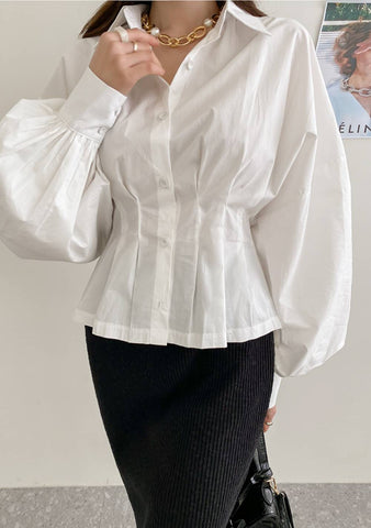 I Will Keep On Trying Puff Blouse