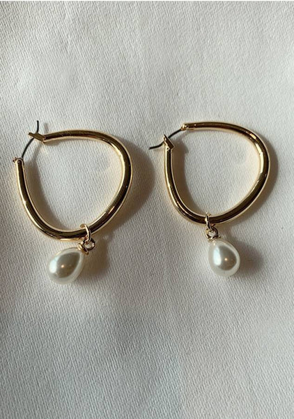 Will You Let Me Go Hoops Earrings