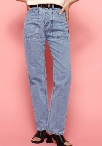 Un Denim Jeans [Blue]