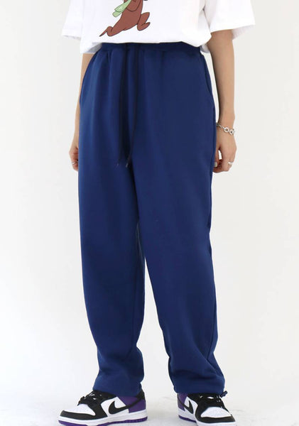 Easy String Jogger Pants [Deep blue]